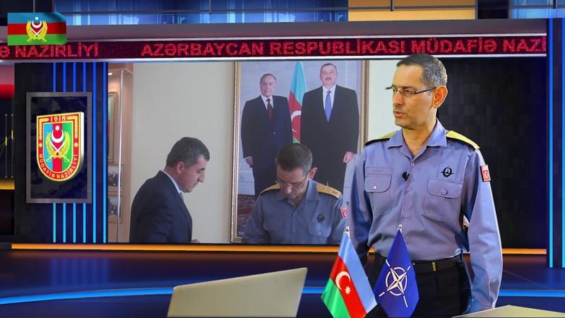 """NATO kontr-admiralı: """"Azərbaycan Ordusunun peşəkarlıq səviyyəsi onun güclü olduğundan xəbər verir"""""""
