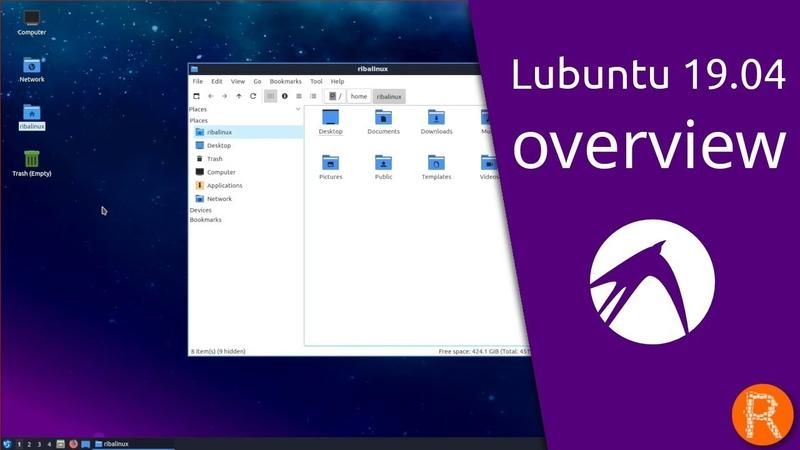 Lubuntu 19 04 overview Lightweight fast easier