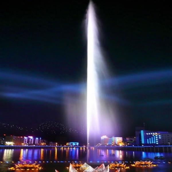 Сверхвысокие фонтаны Москва