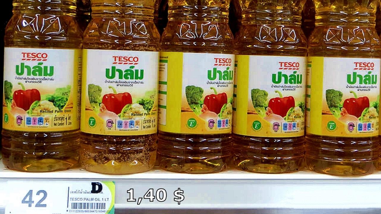 Цены на продукты и еду в Таиланде.  XIMvLeY4MRo