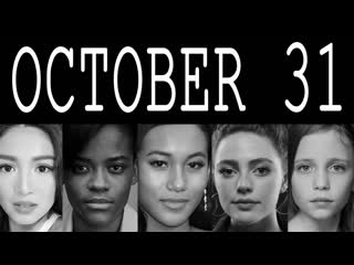 October 31 famous women birthdays celebrities