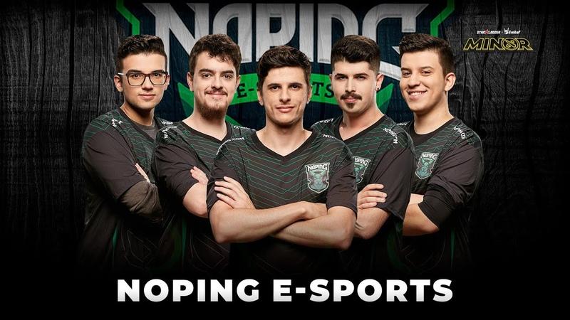 Team Profile NoPing e sports StarLadder ImbaTV Dota 2 Minor Season 3
