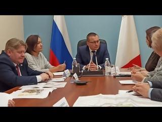 Встреча инициативной группы жителей Бывалово со Стрижевым