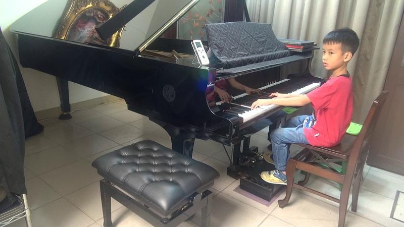 (王郁祺之子-張歐柏斐)(頭家國小)2017/07/03(練習篇33)Debussy Dr. Gradus ad Parnassum Children_s Corner德布西 鋼琴進階