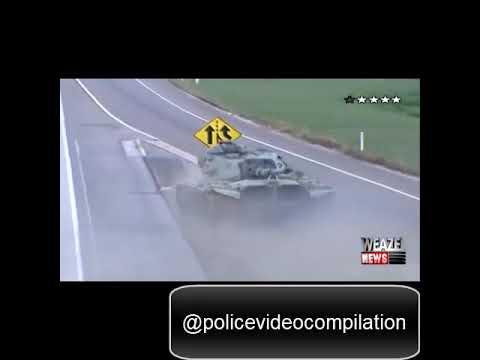 Police USA|(18)GTA в реальной жизни,полицейская погоня за танком/GTA in real life