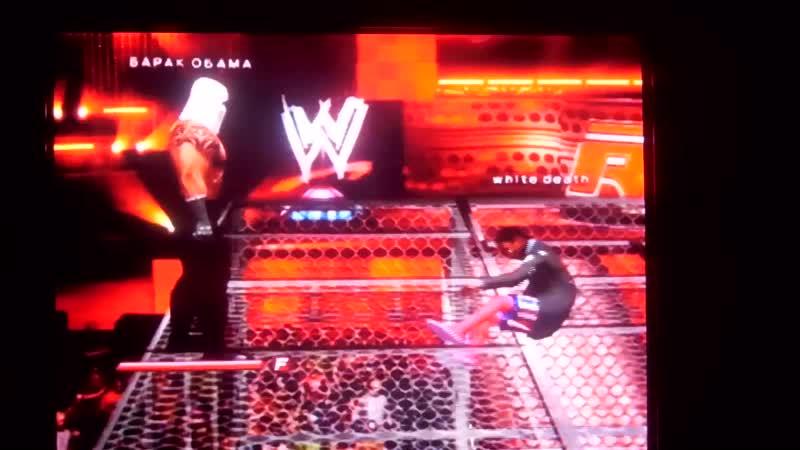 SmackDown vs Raw 2011 White Death vs Barack Obama.Белая Смерть против Барака Обамы.11DeadFace