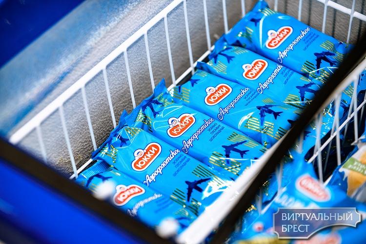 В Бресте выпустили мороженое на основе легендарных конфет «Аэрофлотские»