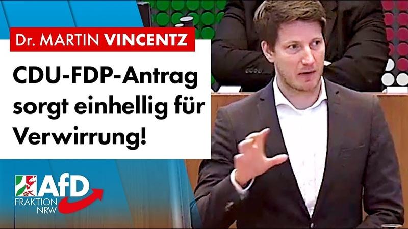 Palliativmedizin: CDU-FDP-Antrag sorgt für Verwirrung – Dr. Martin Vincentz (AfD)