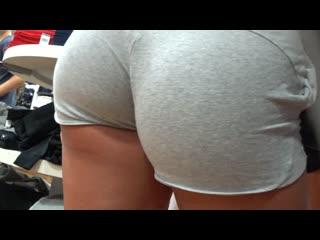Hot thick blonde greyshorts