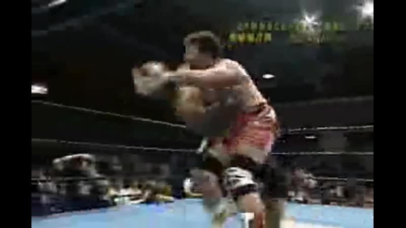 2004.08.23 - Satoshi Kojima vs. Toshiaki Kawada JIP