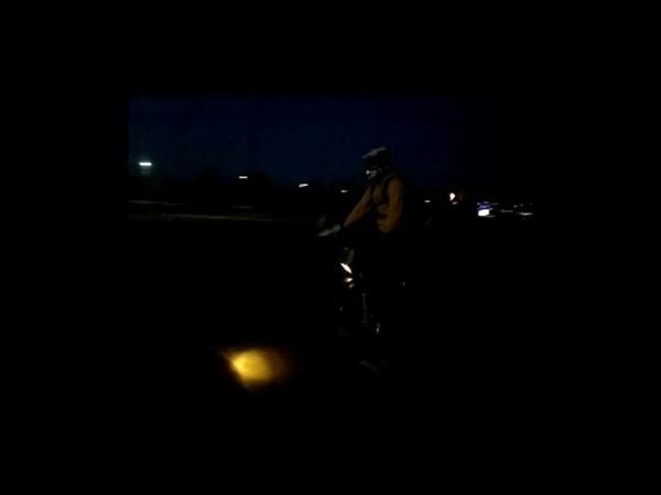 Ямаха дтYamaha DT 125 вечерний стант