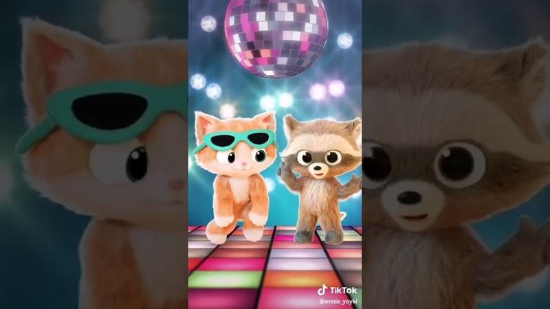 Энни и Йойки Тик Ток Танцы для семьи