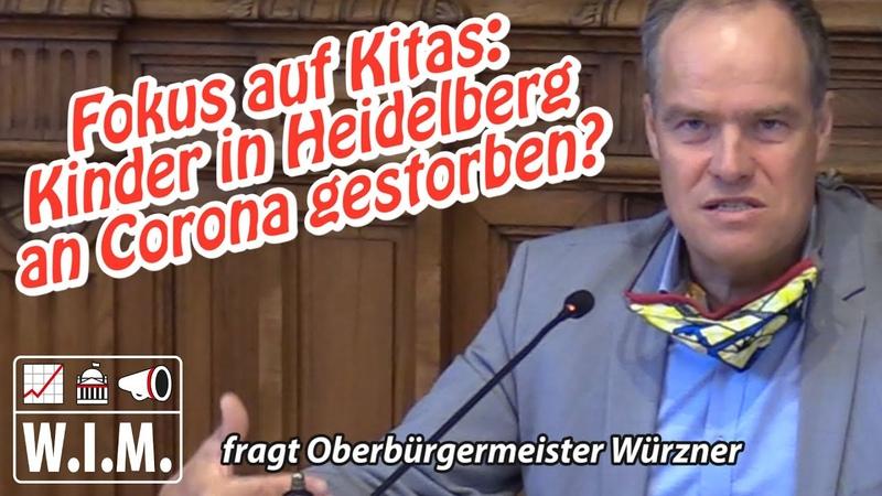 Warum eigentlich Fokus auf Kitas Kinder in Heidelberg an Corona gestorben Fragen beantwortet
