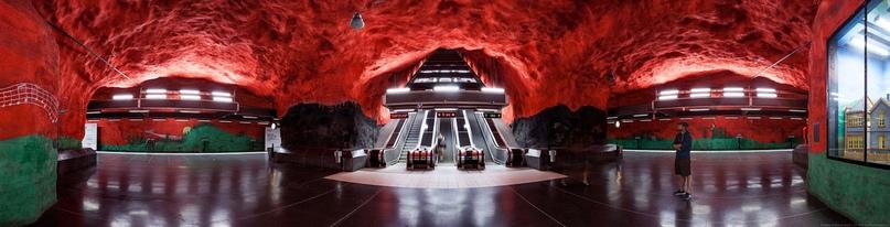 ТОП самых красивых метро, изображение №1