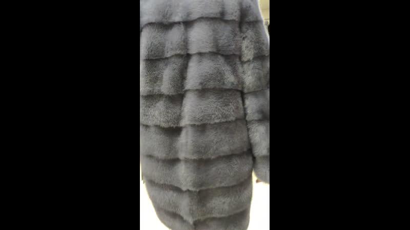 Датская норка с капюшоном поперечка
