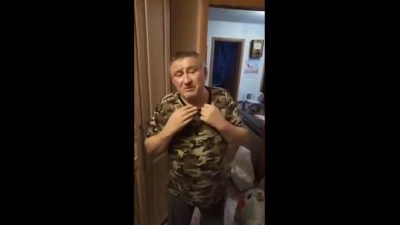 В Копейске воевавший 3 года в Чечне Николай Безручко вместе с дочерью-инвалидом жил на 200