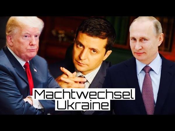Machtwechsel Ukraine Selenski gegen den tiefen Staat