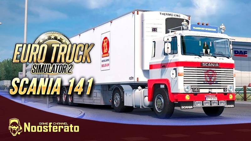 🚛Euro Truck Simulator 2 Operation Genoa Bridge на Scania 141 от mo3Del Truck Game mTG
