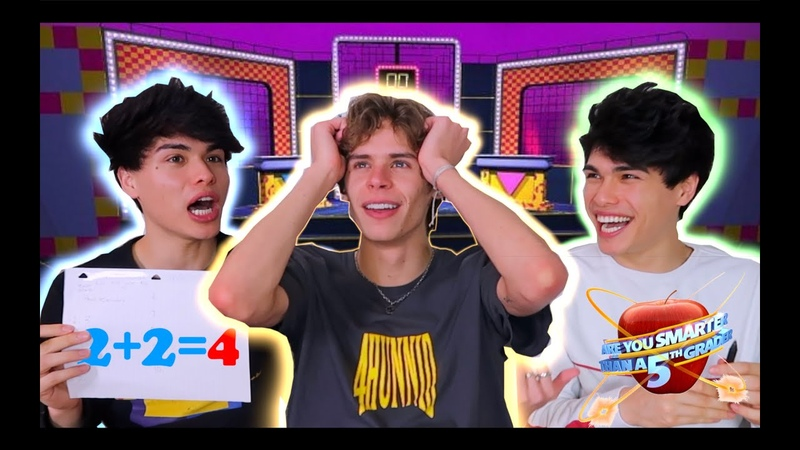 ARE YOU SMARTER THAN A 5TH GRADER CHALLENGE w Stokes Twins