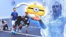 ОТМОРОЖЕННЫЙ ФУТБОЛ / Играем в футбол ВСЛЕПУЮ | Миллер, Герман, Нечай, Панда фх и Федос