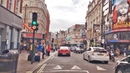 London 4K Crowded Weekend Streets Driving Downtown