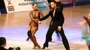 Pavel Lysy Ekaterina Novikova Samba WDSF International Open Latin