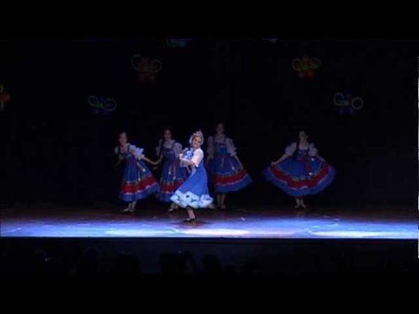 Школа танца Grand Pas (г. Самара) Краса - русская коса, 2013 г.