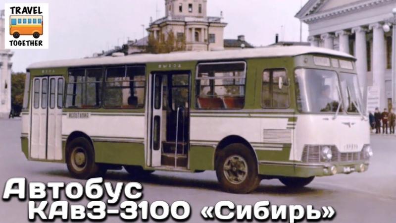 Нереализованные проекты. Автобус КАвЗ-3100 Сибирь | Unrealized projects. Bus KAvZ-3100 Sibir