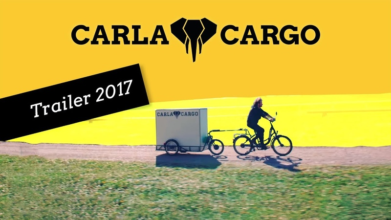 CARLA CARGO Trailer 2017 - transform your bike into a cargo bike solution - Lastenanhänger