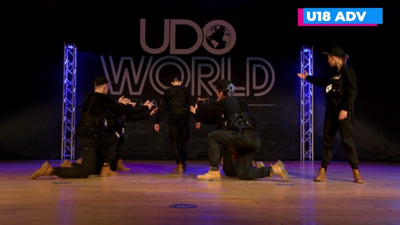 1st Place A Army U18 Advanced UDO World Street Dance Championship 2019