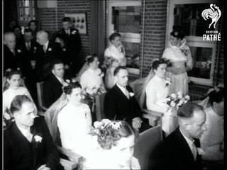 Holland - Two-Family Mass Wedding (1954)