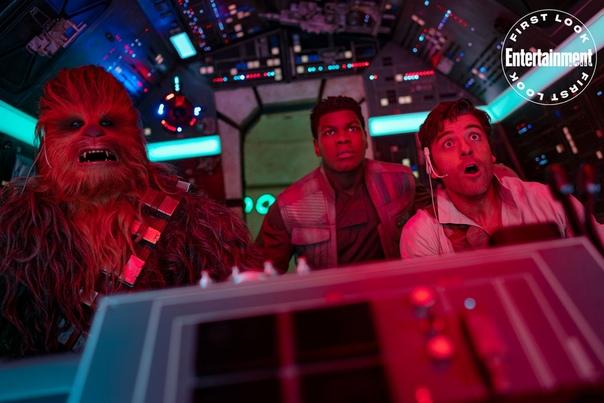 Чубакка, Финн и По на свежем кадре блокбастера «Звездные войны: Скайуокер. Восход» Придумываем подпись