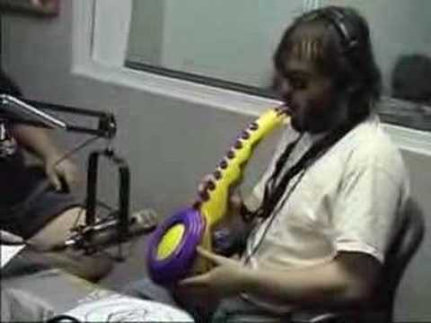 Jack Black of Tenacious D vs Señor Sax A Boom in an EPIC BATTLE **PLEASE SUBSCRIBE**