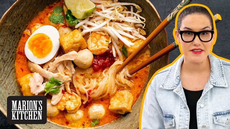 My ultimate guide to making laksa from scratch | Malaysian Laksa Lemak - Marions Kitchen