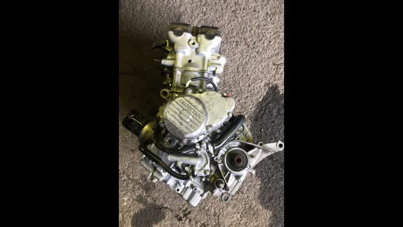 Проверка контрактного двигателя Honda CBR400RR (NC23E) перед отправкой клиенту | motod.ru