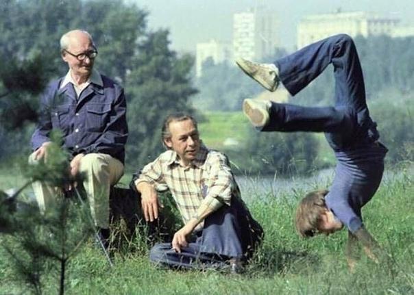 Три поколения Ефремовых, 1970е годы .Спасибо за и подписку