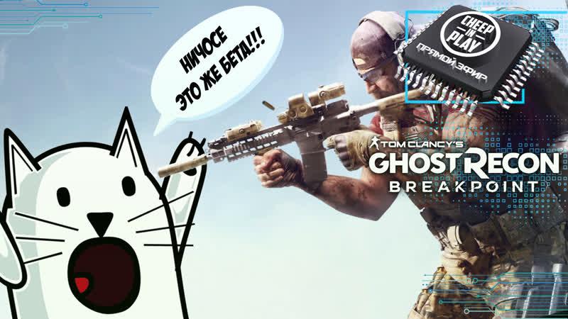 ⭕ Tom Clancy's Ghost Recon Breakpoint 🎦 Тестим БеБету (КамераЧат)