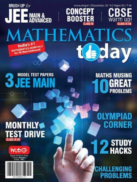 Mathematics Today - December 2019 UserUpload