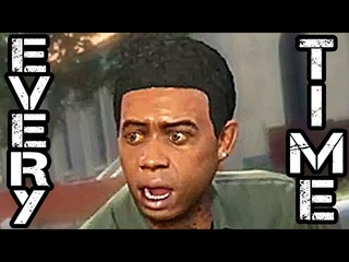 Every Time Lamar Davis Says Nigga In Grand Theft Auto V