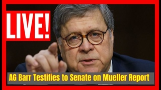 🔴 LIVE: AG William Barr TESTIFIES to the Senate Judiciary Committee on the Mueller Report