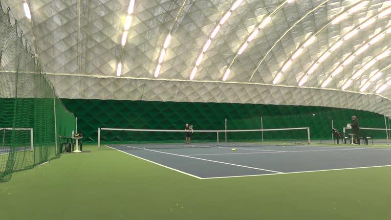 Играем теннис по субботам Коломенское 2019