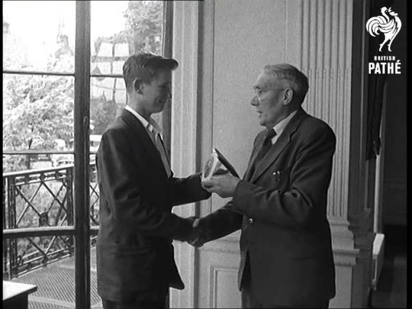 Brave Boy Rewarded Aka Carnegie Award To Brian Gibbons 1959