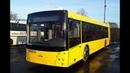 Автобус Минска МАЗ-203.016,гос.№ АС 9949-7,марш.144с (06.03.2020)