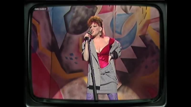 Bette Midler Beast Of Burden Rolling Stones 1984
