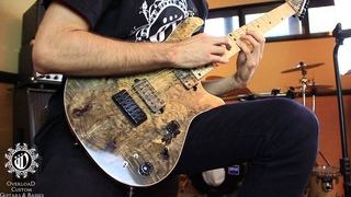 Overload Guitars & Basses - custom REA 7 - Animals as Leader :CAFO cover TAPPING part 2