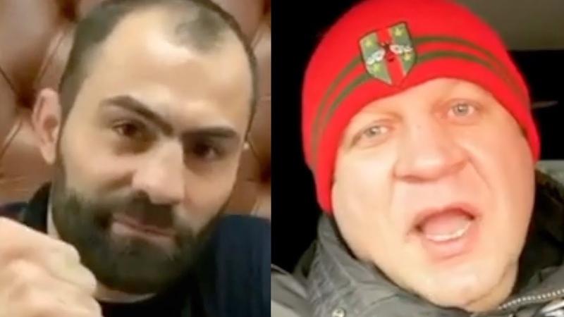 Срoчнo Емельяненко пpинял вызoв Kaвказцa боксёра