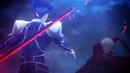 épica pelea Lancer vs Archer