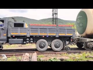 Локомобиль на базе Урал Некст kjrjvj,bkm yf ,fpt ehfk ytrcn
