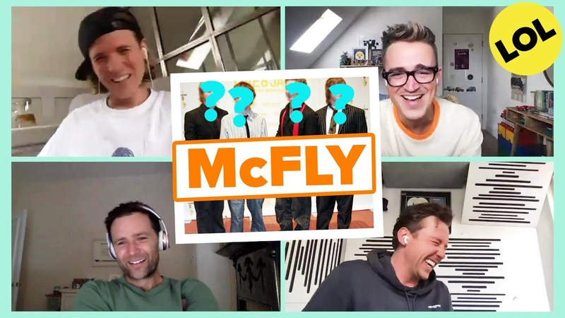 McFly React To Their Classic Looks