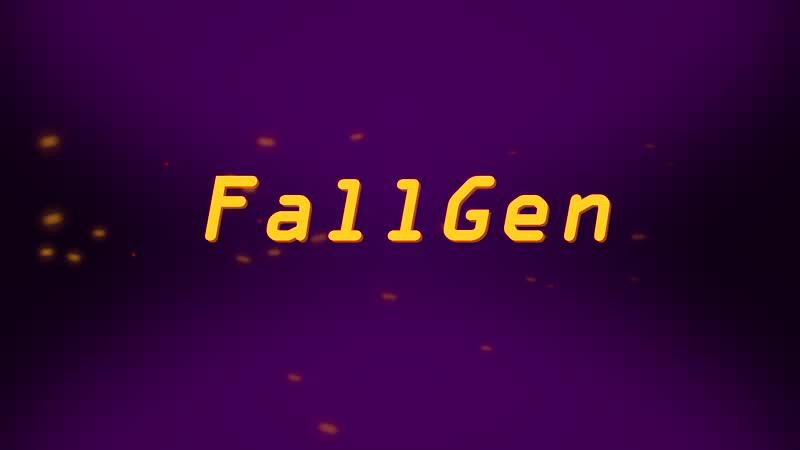 FallGen (position, rotation, particular)